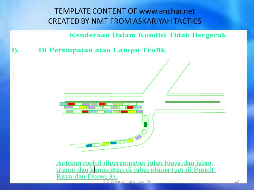TEMPLATE CONTENT OF   CREATED BY NMT FROM ASKARIYAH TACTICS IT & Cyber Crime Unit of INP23