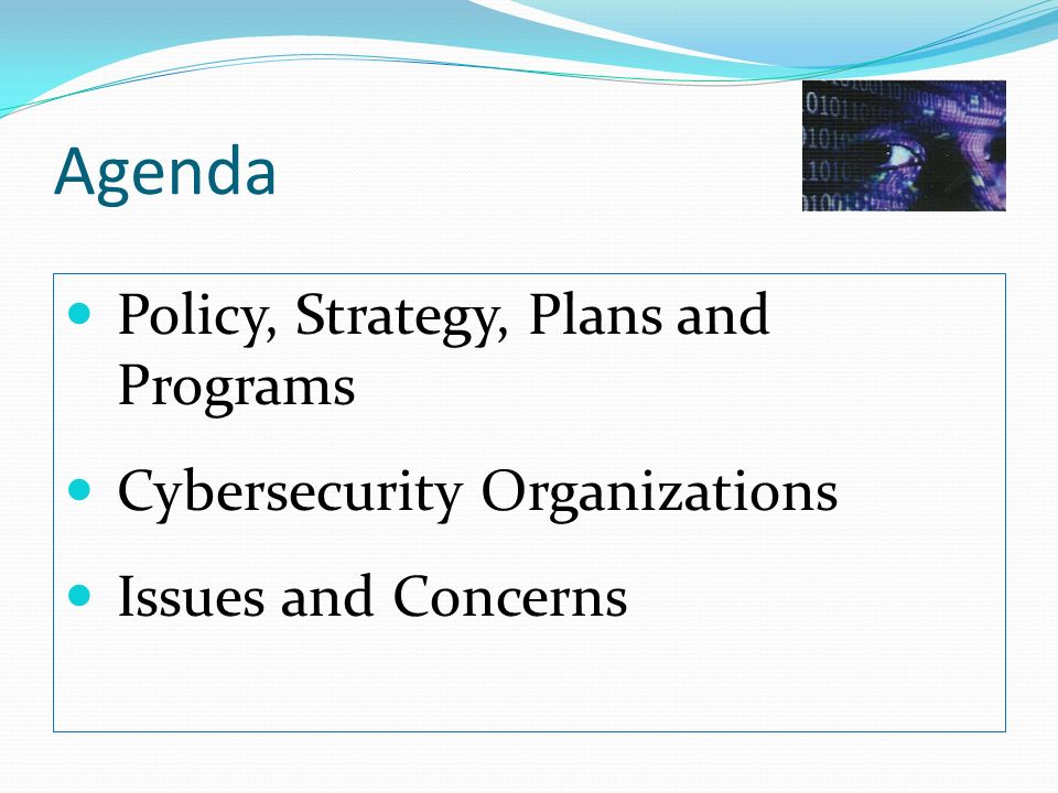 This National Cyber Security Plan shall be the cornerstone of the countrys Cyber Security Policy.