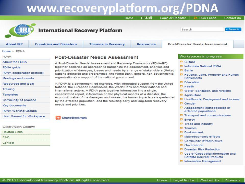 www.recoveryplatform.org/PDNA