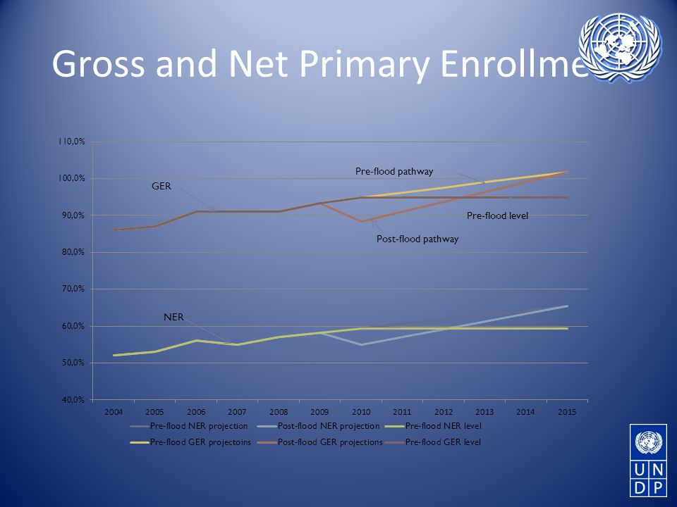 Gross and Net Primary Enrollment