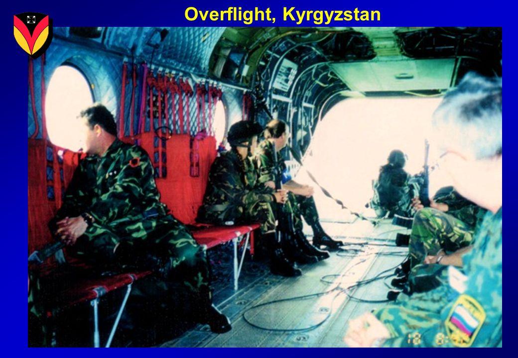 Overflight, Kyrgyzstan