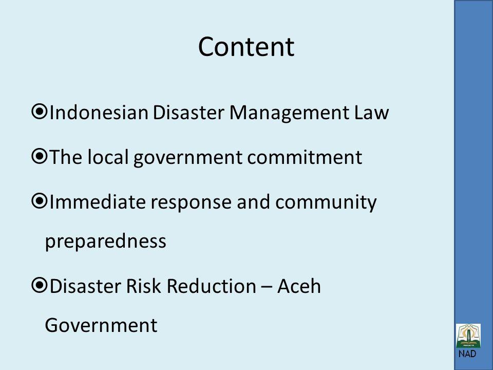 Aceh government Disaster Management Task Force (satkorlak) Muhammad Nazar Vice governor SATKORLAK PBP PROVINSI NANGGROE ACEH DARUSSALAM KANTOR GUBERNU