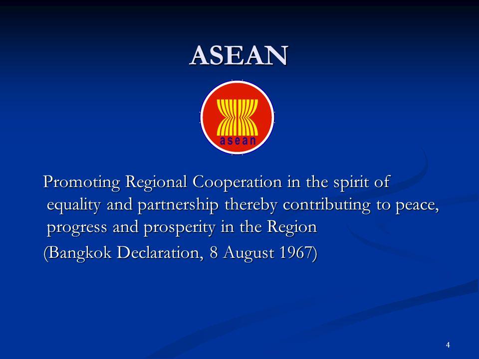5 ACDM 1971 AEGDM ACDM - 2002 1971 AEGDM ACDM - 2002 10 ASEAN NDMO 10 ASEAN NDMO Enhance Regional cooperation in DM Enhance Regional cooperation in DM
