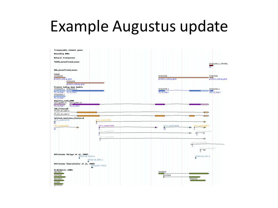 Example Augustus update