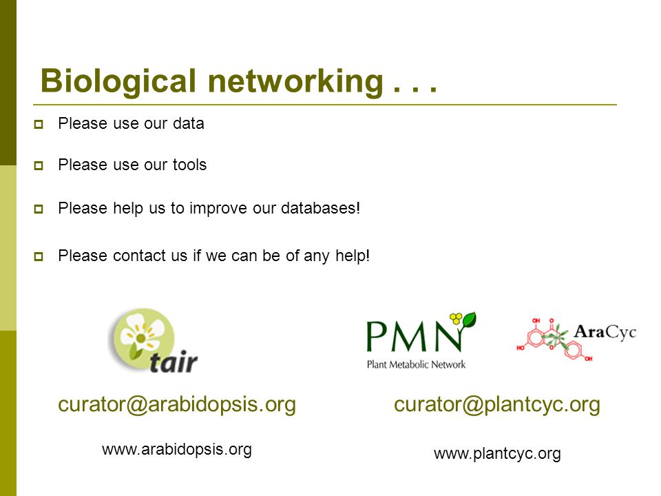 Biological networking...