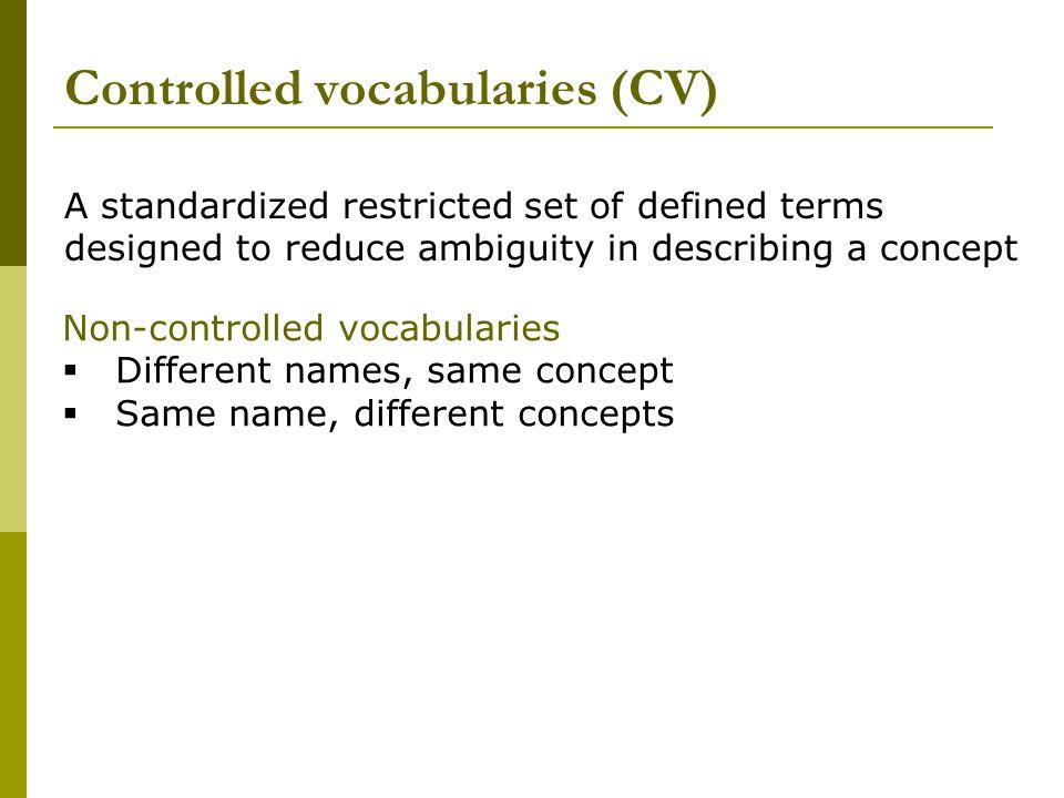 Functional categorization