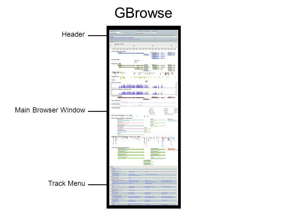Track menu