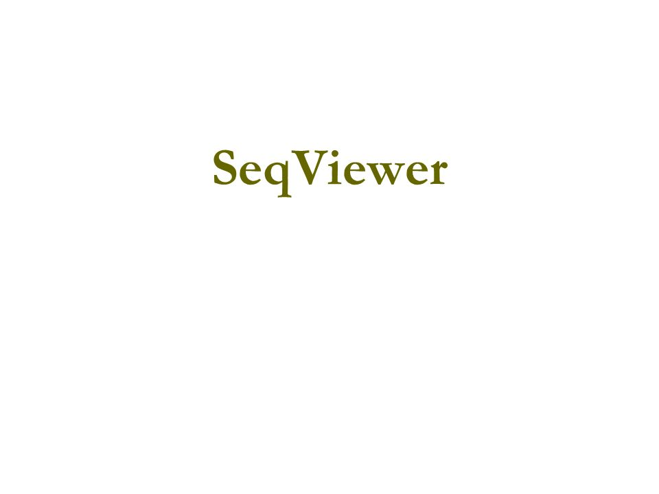 SeqViewer