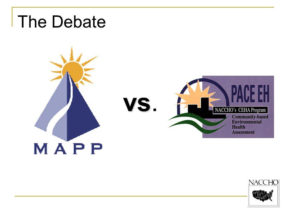 The Debate vs vs.