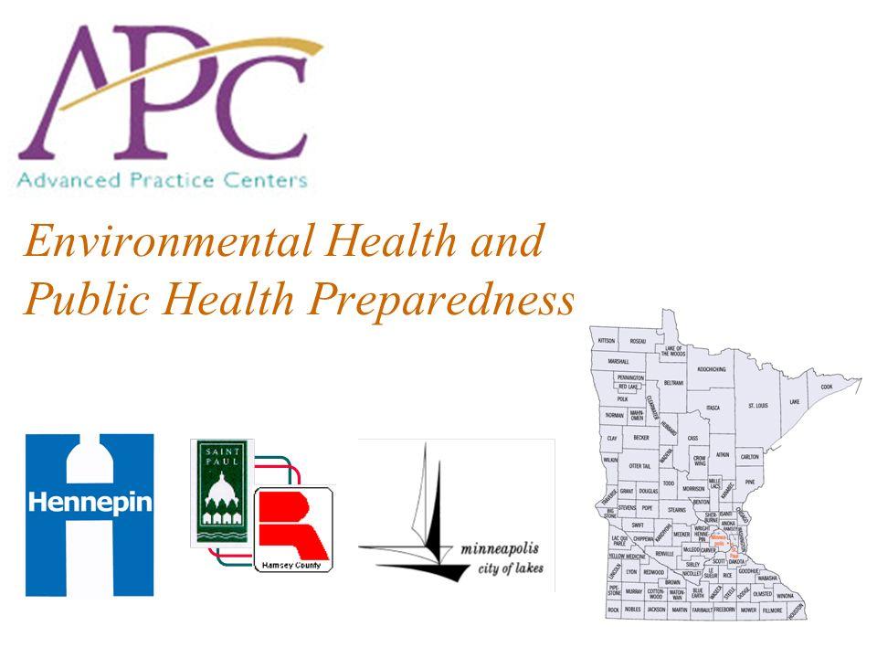 Environmental Health and Public Health Preparedness