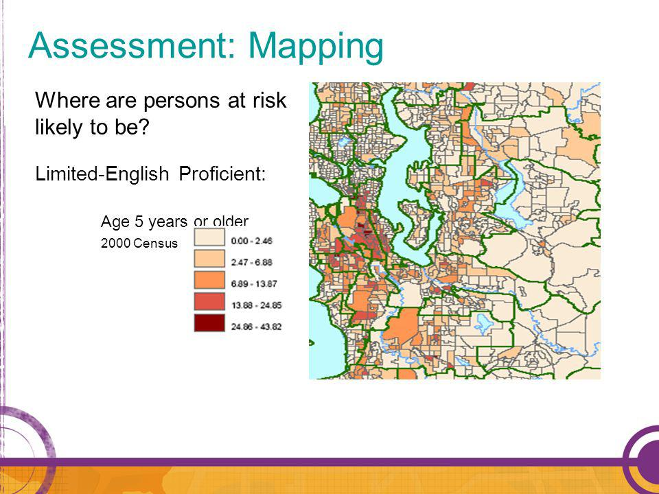 Where are persons at risk likely to be.