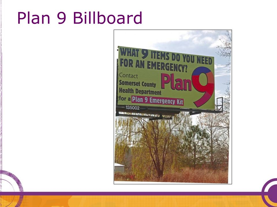 Plan 9 Billboard