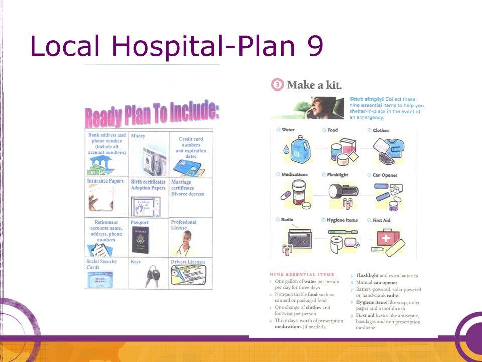 Local Hospital-Plan 9