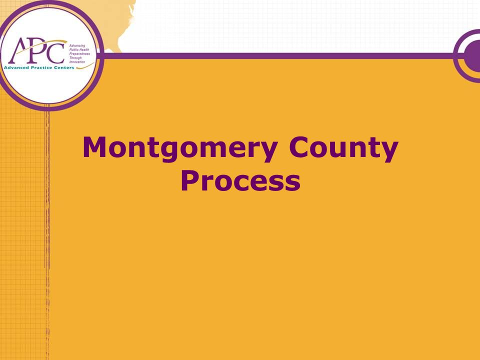 Montgomery County Process