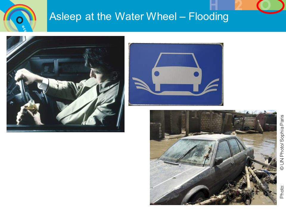 Asleep at the Water Wheel – Flooding Photo:© UN Photo/ Sophia Paris