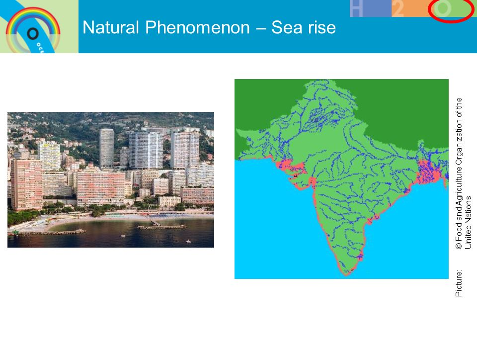 Natural Phenomenon – Sea rise Picture: © Food and Agriculture Organization of the United Nations