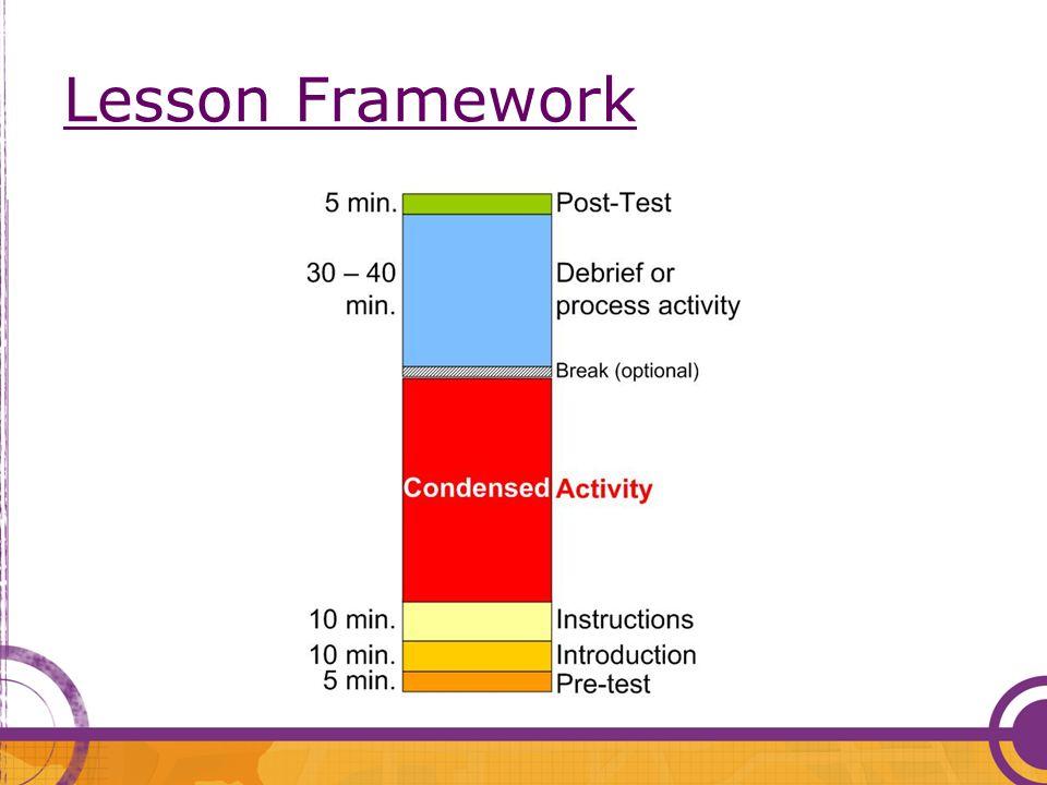 Lesson Framework