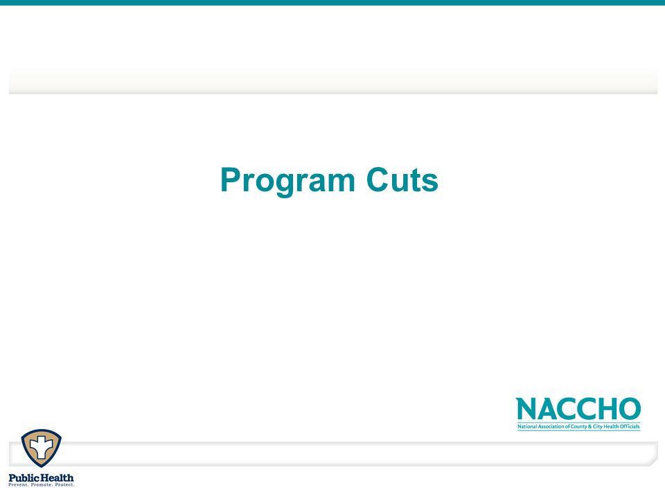 Program Cuts