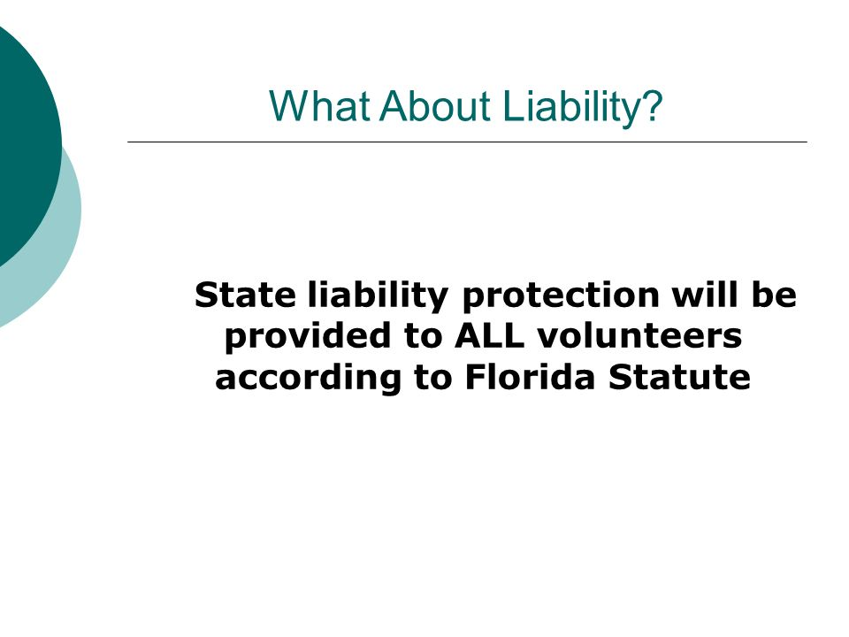 What About Liability.