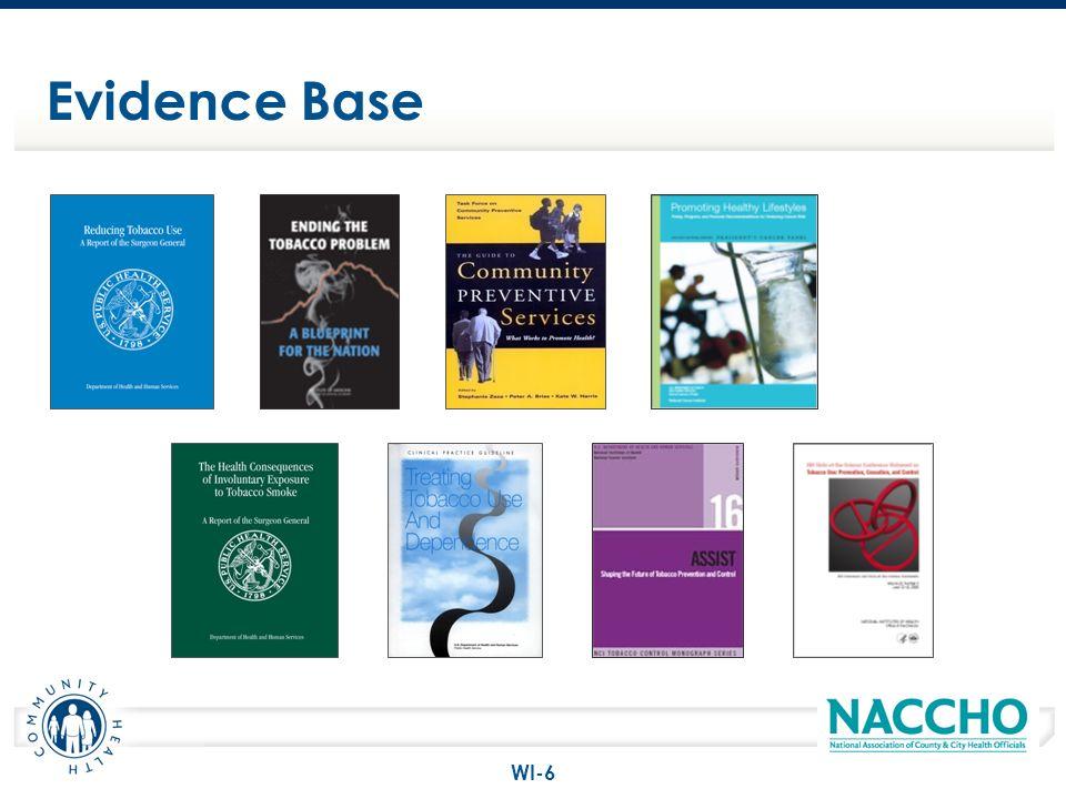 Evidence Base WI-6