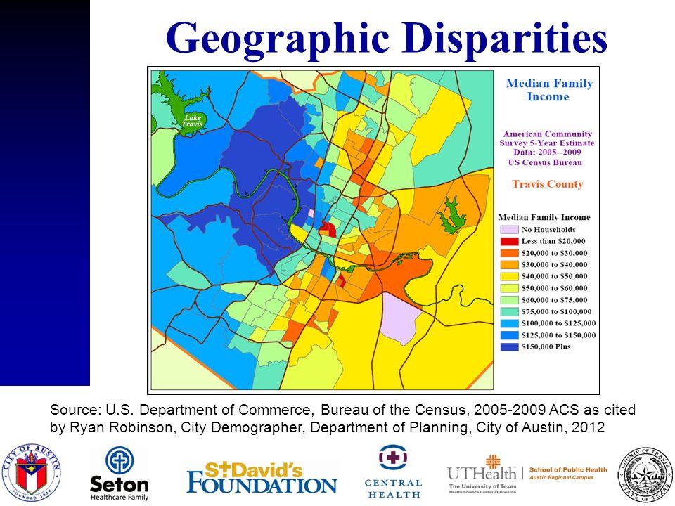 Geographic Disparities Source: U.S.