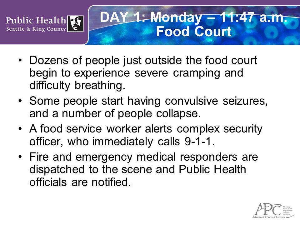 DAY 1: Monday – 11:49 a.m.
