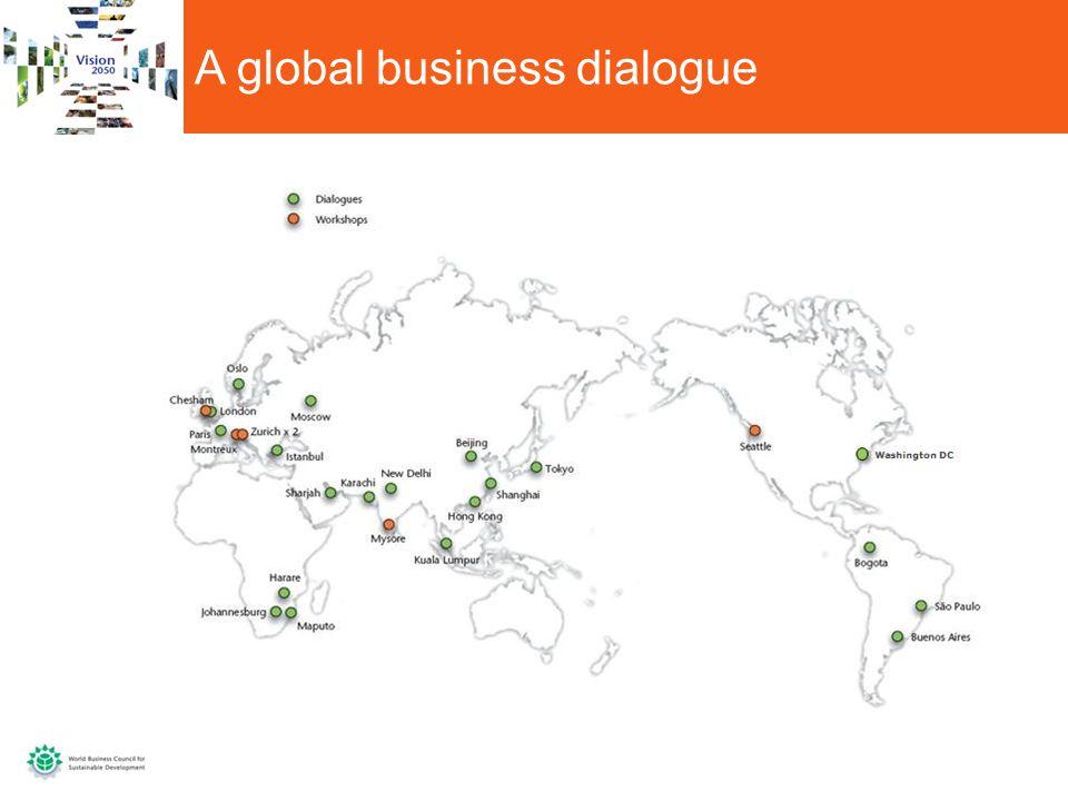 A global business dialogue