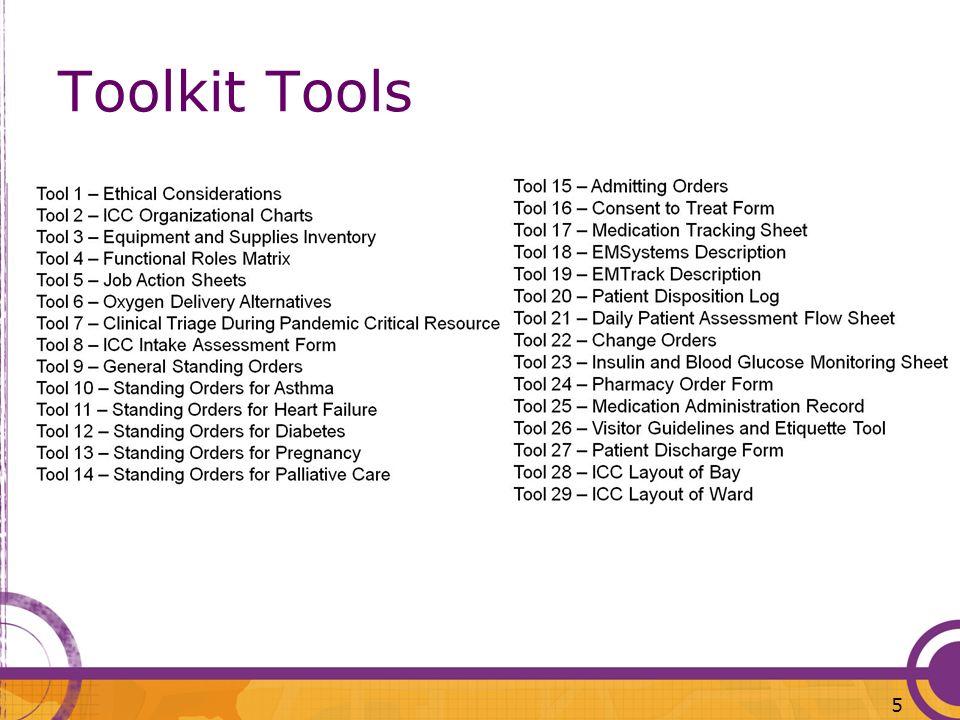 Toolkit Tools 5