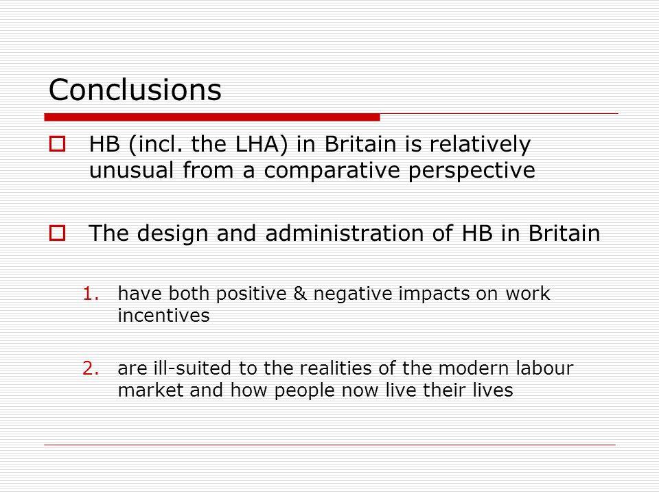 Conclusions HB (incl.