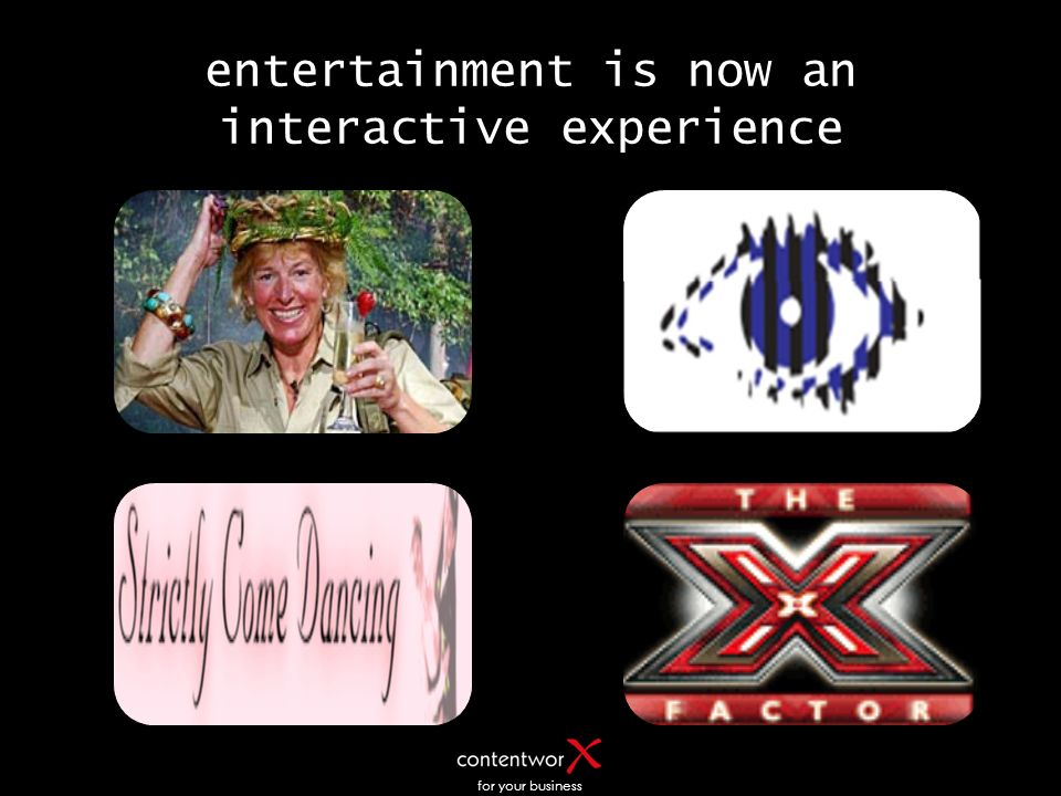 for your business entertainment is now an interactive experience
