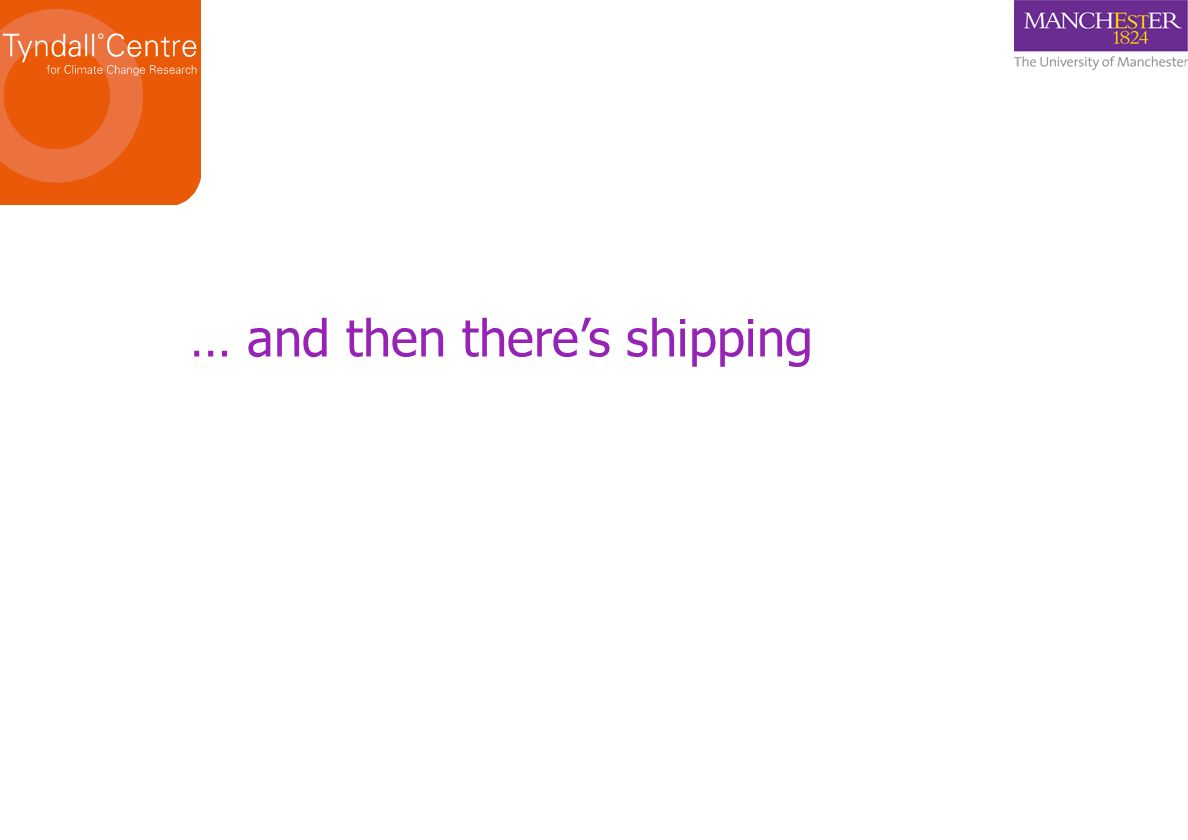 … and then theres shipping