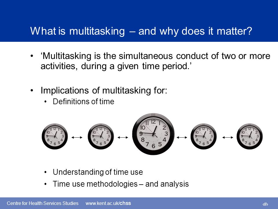 4 What is multitasking – and why does it matter.