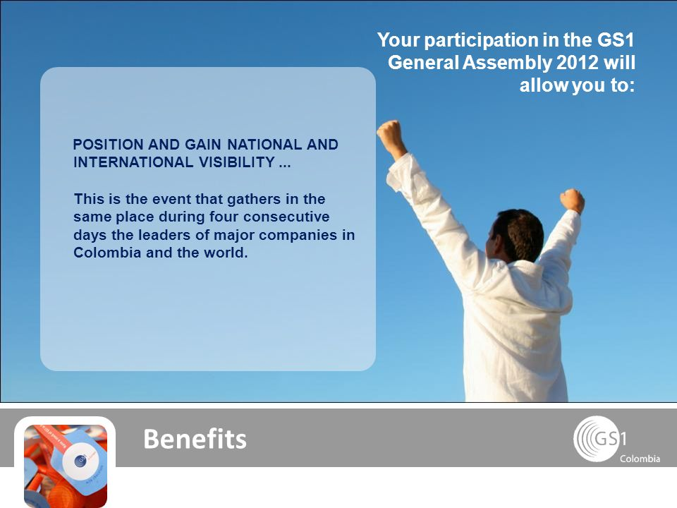 Benefits POSITION AND GAIN NATIONAL AND INTERNATIONAL VISIBILITY...