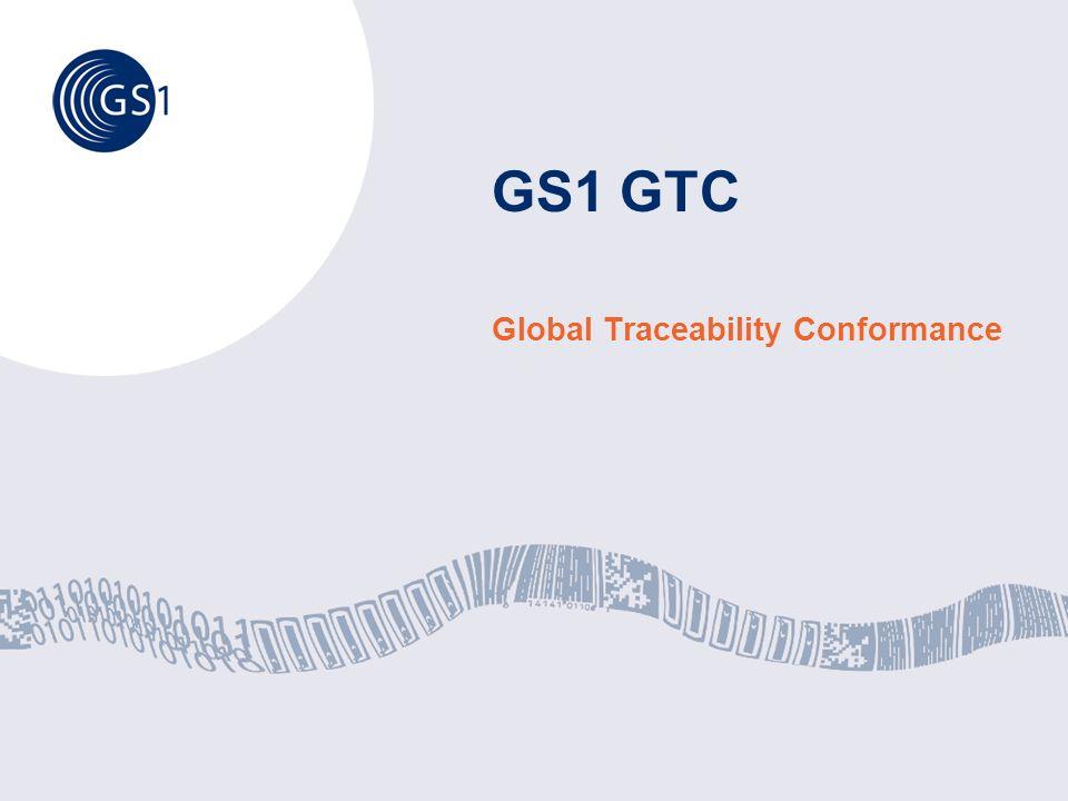 GS1 GTC Global Traceability Conformance