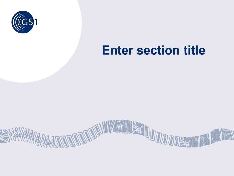 Enter section title