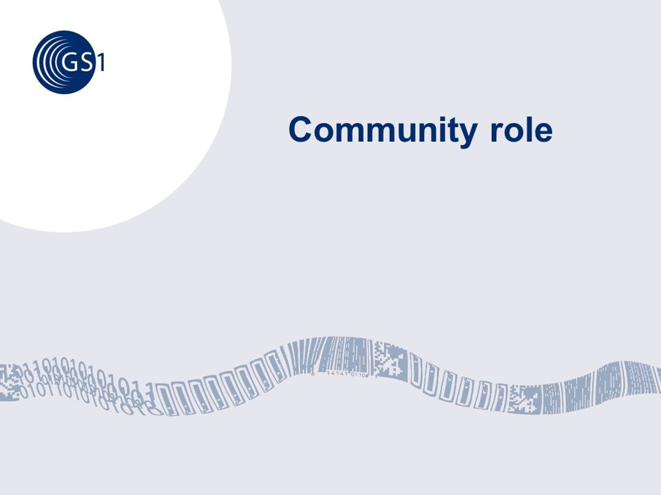 Community role