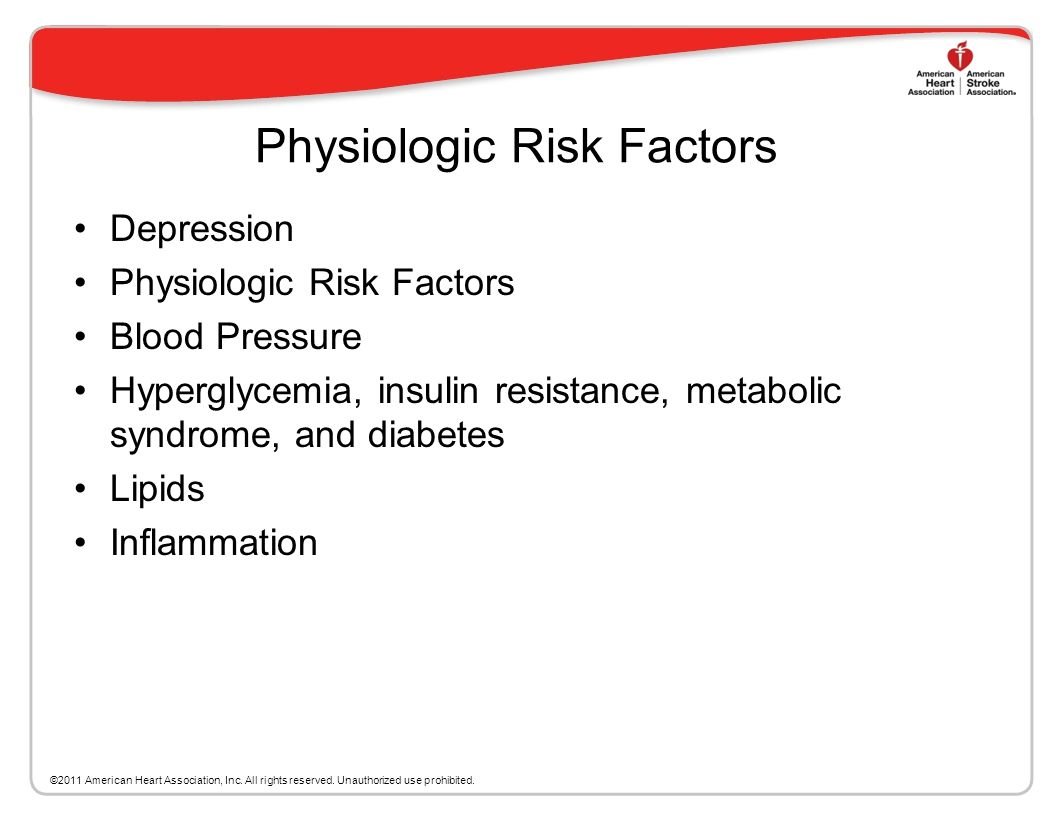 Lifestyle Factors Recommendations The following lifestyle interventions in persons at risk for VCI may be reasonable 1. Moderation of alcohol intake (