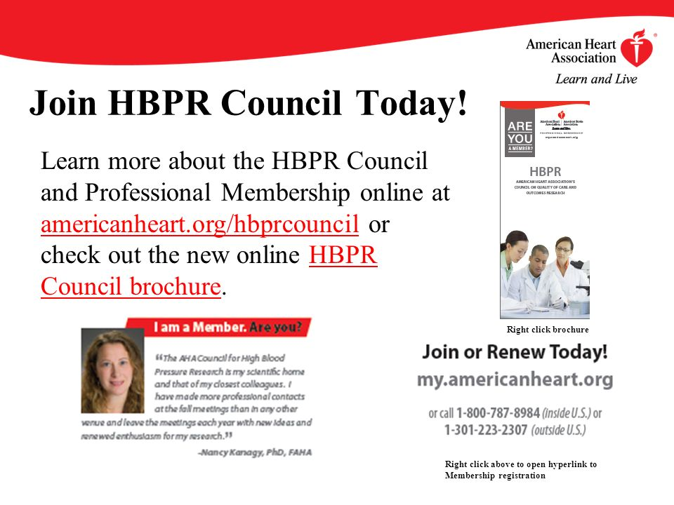 Join HBPR Council Today.