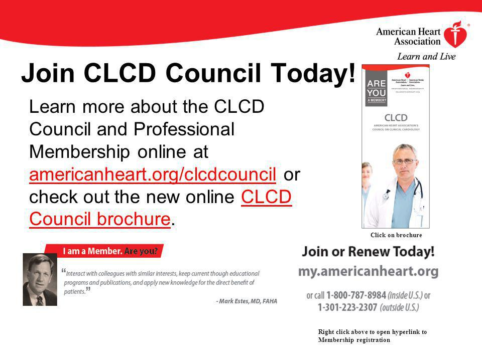 Join CLCD Council Today.