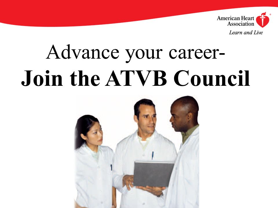 Advance your career- Join the ATVB Council