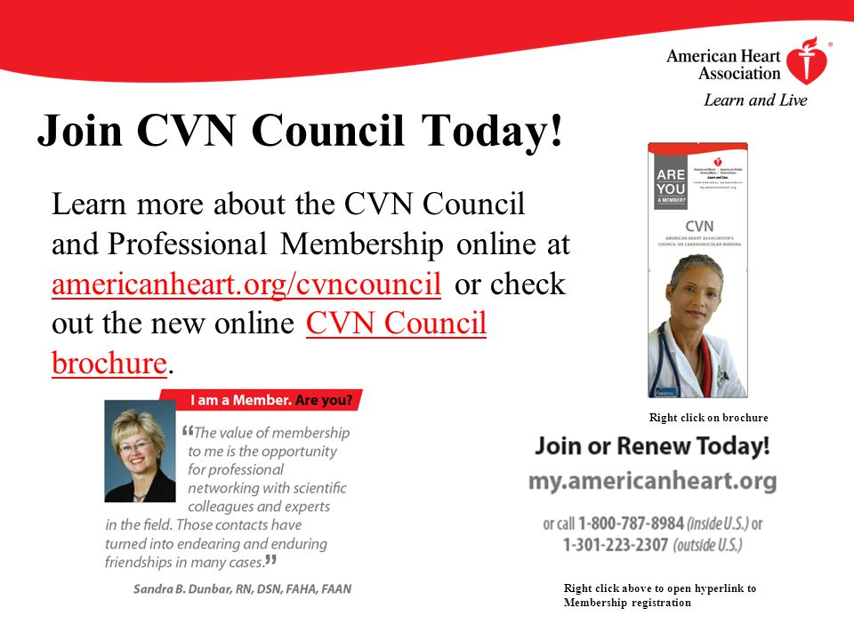 Join CVN Council Today.