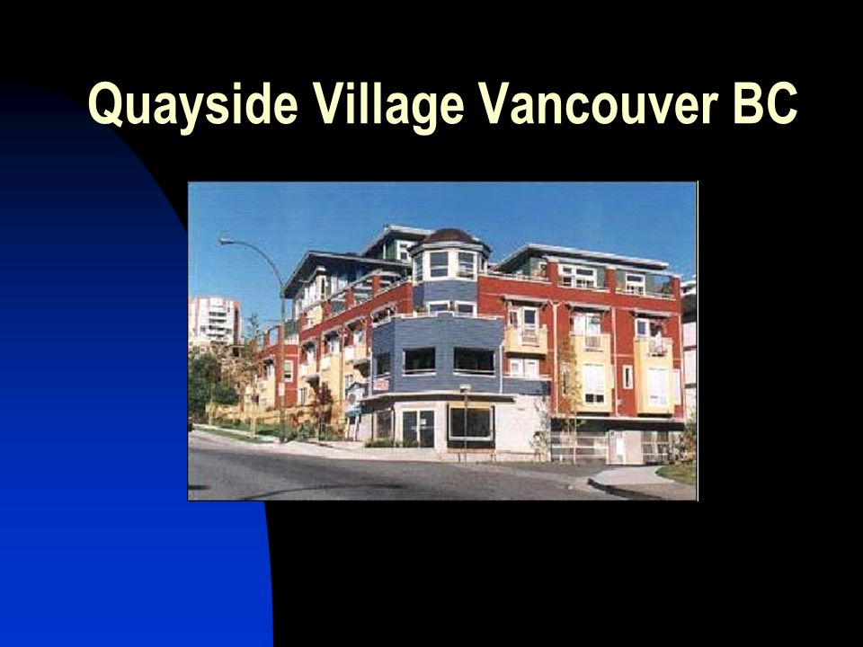 Quayside Village Vancouver BC