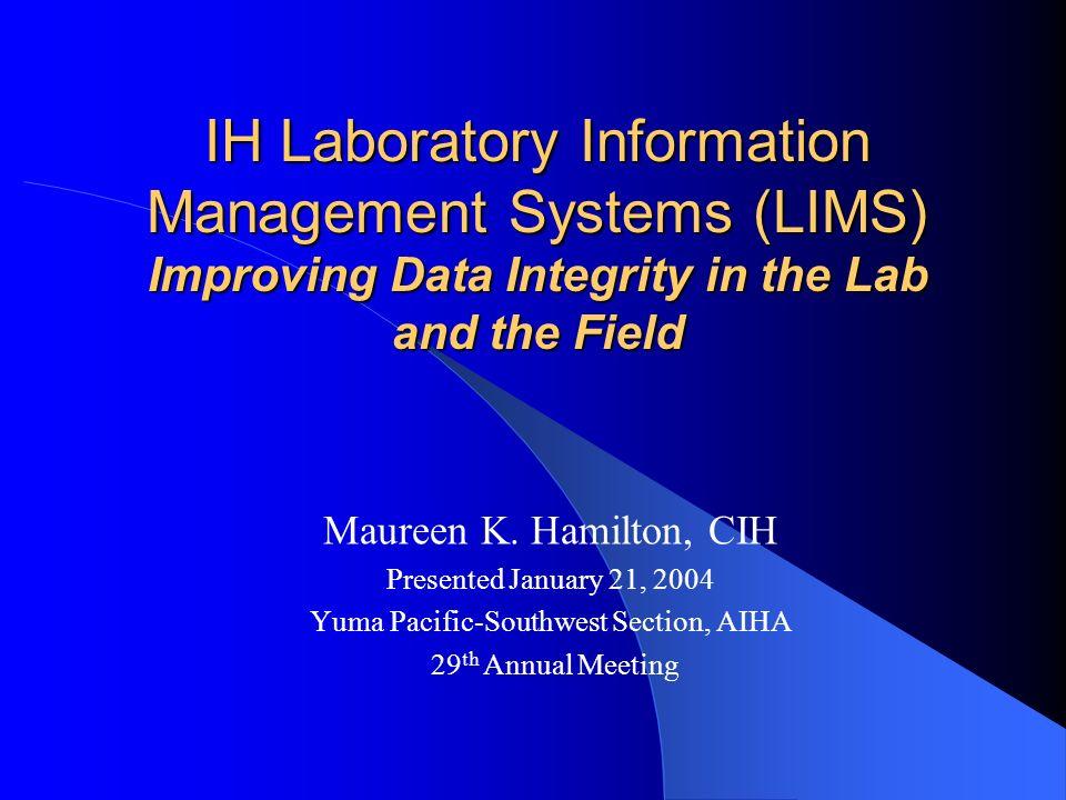 Acknowledgement of Information Sources Bob Lieckfield, Jr., CIH – Clayton Group Services, Inc.