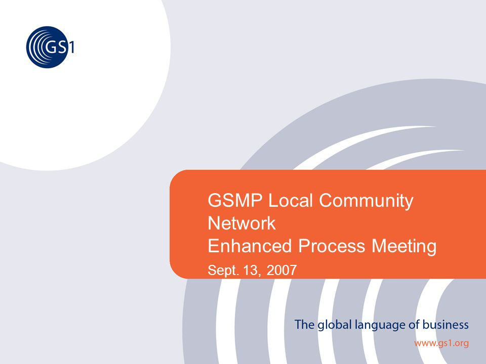 ©2005 GS1 22 The Global Collaborative Forum 1 23 456 Key weeks GA Meeting Week Zoomerang Zoomerang Analysis Public Review Comment Resolution 6 Month View of 1 Cycle w/ Public Review Comment Resolution Added