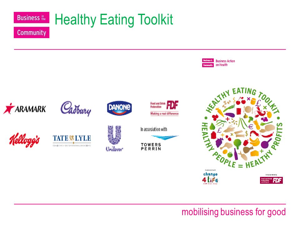 mobilising business for good Healthy Eating Toolkit