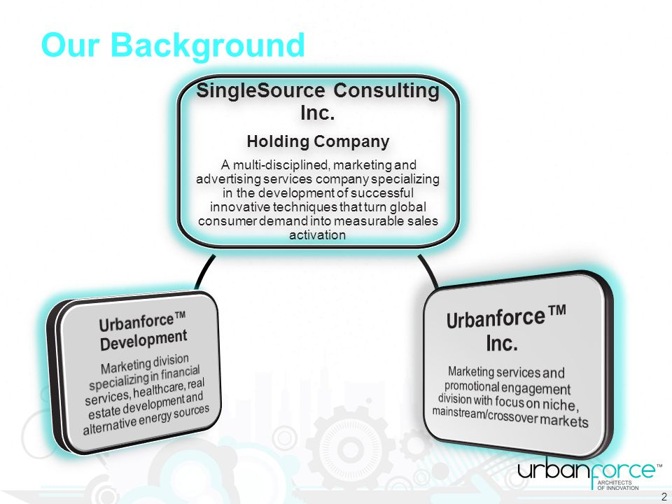 Our Background SingleSource Consulting Inc.