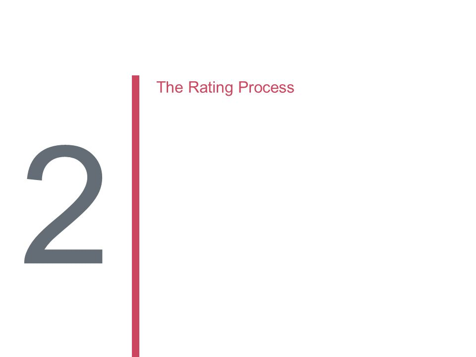 The Rating Process 2