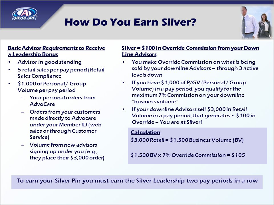 How Do Build a Silver Business.