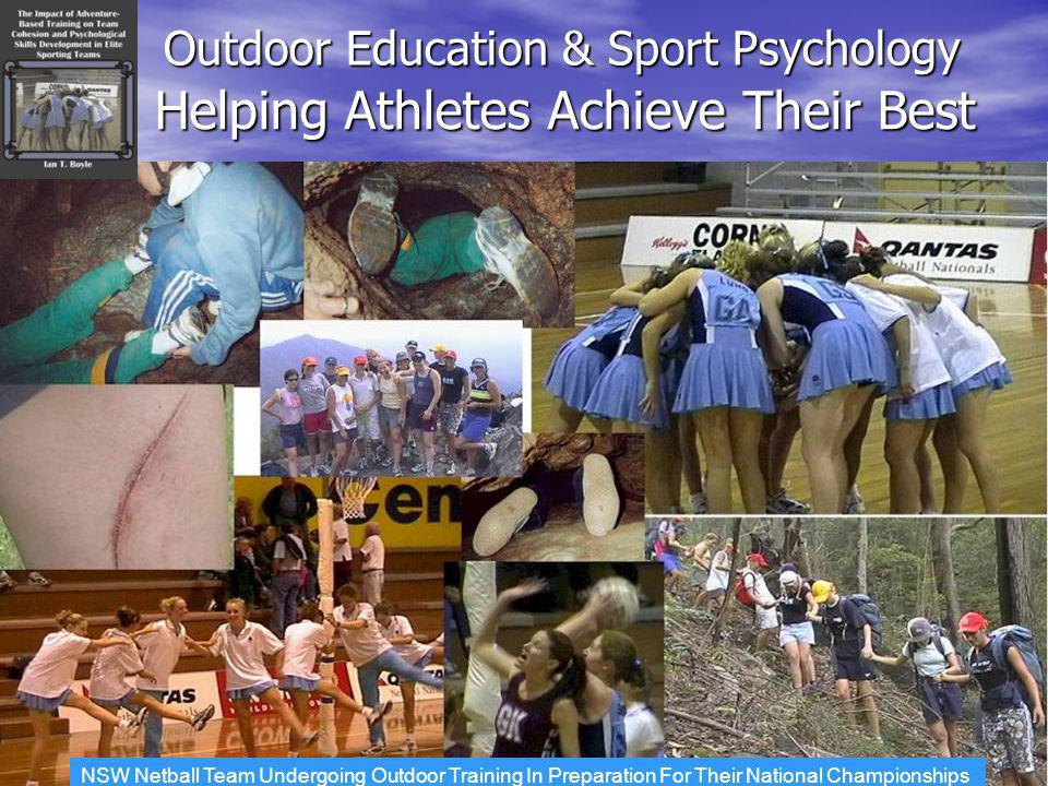 Helping Athletes Achieve Their Best Outdoor Education & Sport Psychology NSW Netball Team Undergoing Outdoor Training In Preparation For Their National Championships