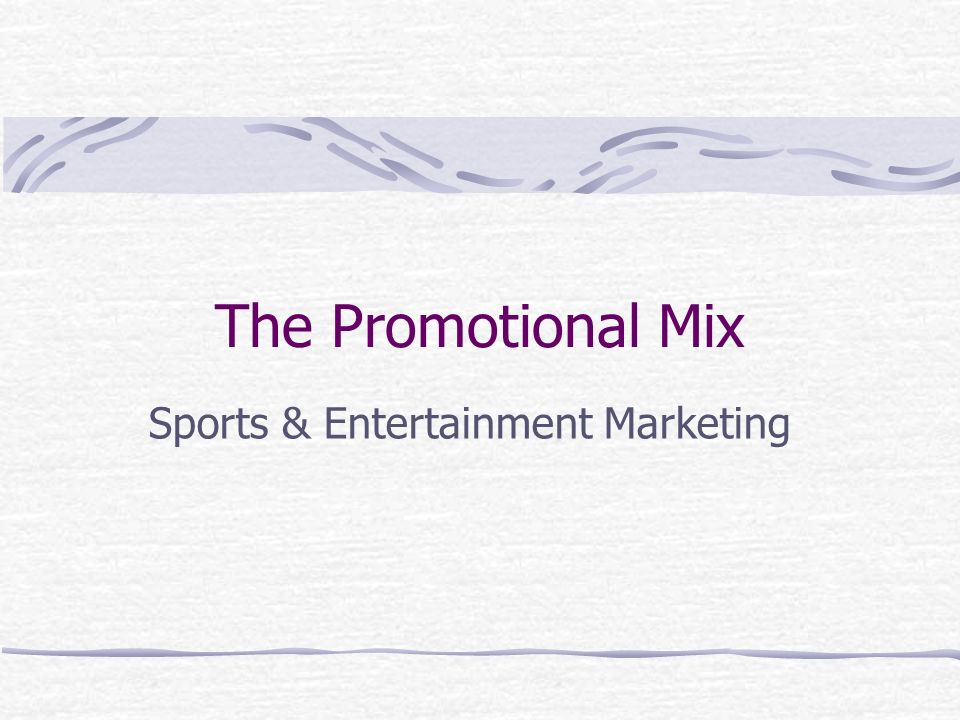 The 4 main components Advertising Personal Selling Sales Promotion Public Relations